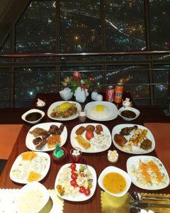شام برج میلاد