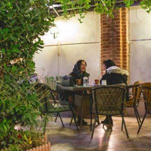 کافه دیاموند - فضای بیرون - کافه های روباز - دیدو
