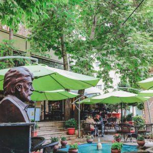 کافه کاریز(3) - بهترین کافه های روباز تهران - دیدو