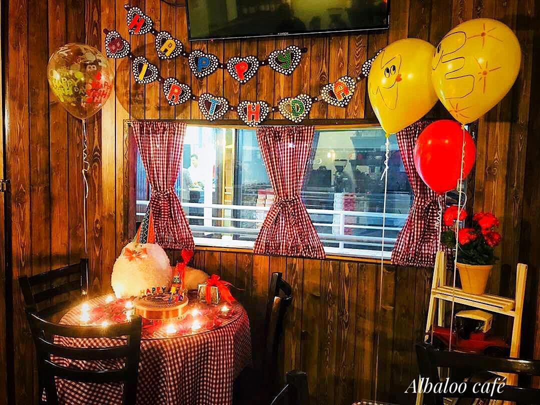 برگزاری تولد در کافه - کافه البالو (1)