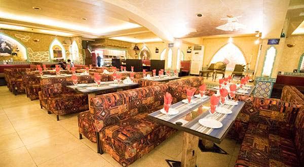 رستوران شب های سرو - قیمت مناسب ترین رستوران های تهران