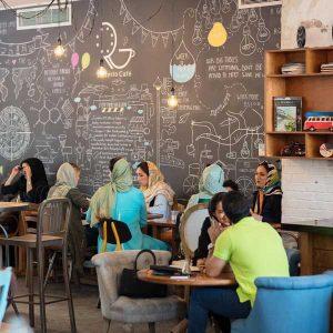 کافه روبرتو - بهترین کافه های شمال تهران - دیدو