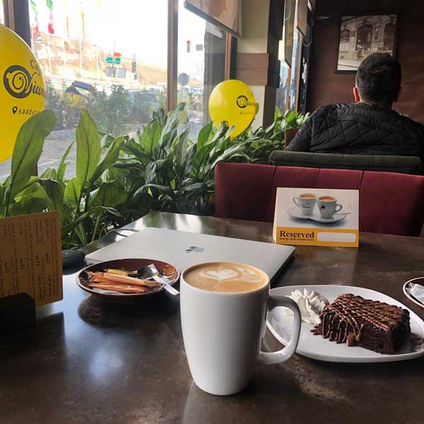 کافه-ویونا-سعادت-اباد - بهترین کافه های سعادت آباد