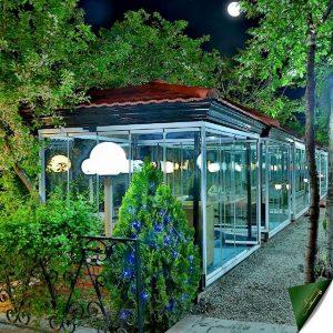 رستوران باغ بهشت فشم - دیدو