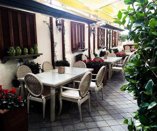 کافه درسا - بهترین کافه های روباز شمال تهران