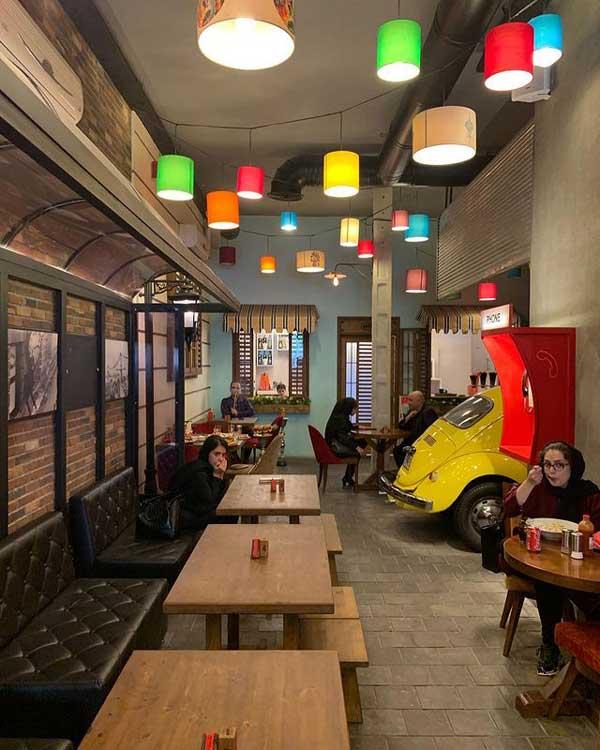 کافه رستوران برزن - بهترین کافه های تهرانپارس