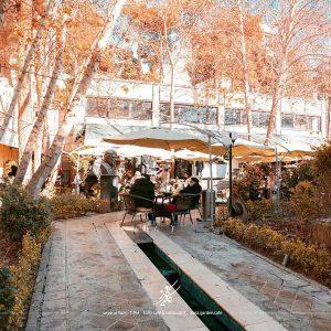 کافه کاریز - کافه های روباز غرب تهران
