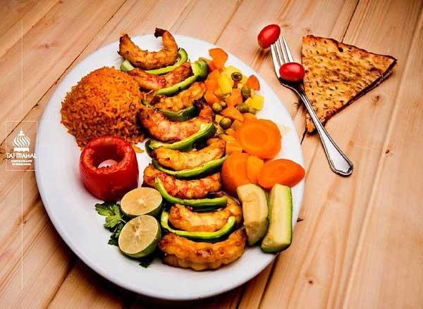 منو-غذایی-رستوران-تاج-محل
