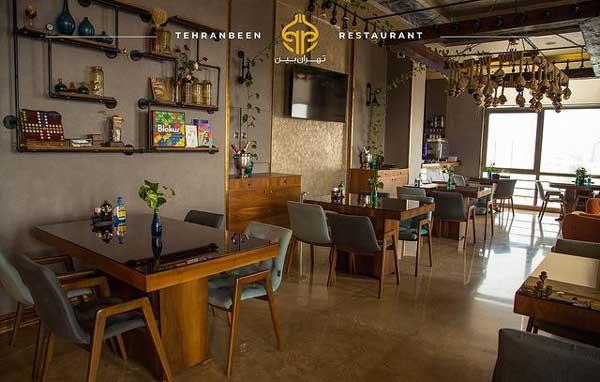کافه-رستوران-تهران-بین-2- بهترین کافه رستوران های تهران