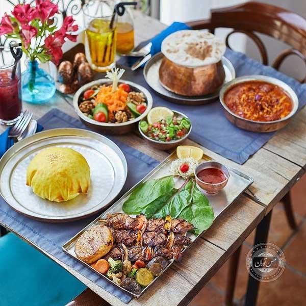 رستوران مس توران - بهترین رستوران های نیاوران
